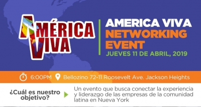 America Viva invita a Networking en la ciudad de New York
